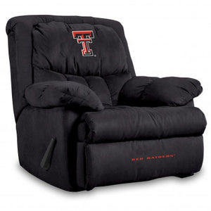 Texas Tech Red Raiders NCAA Microfiber Home Team Recliner