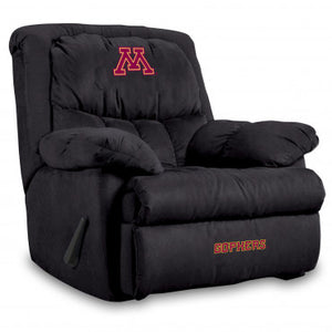 Minnesota Golden Gophers NCAA Microfiber Home Team Recliner