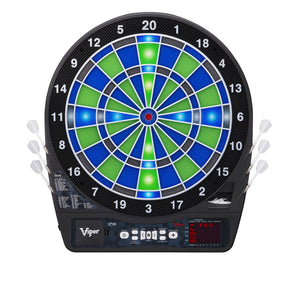 VIPER ION LED ILLUMINATED DARTBOARD