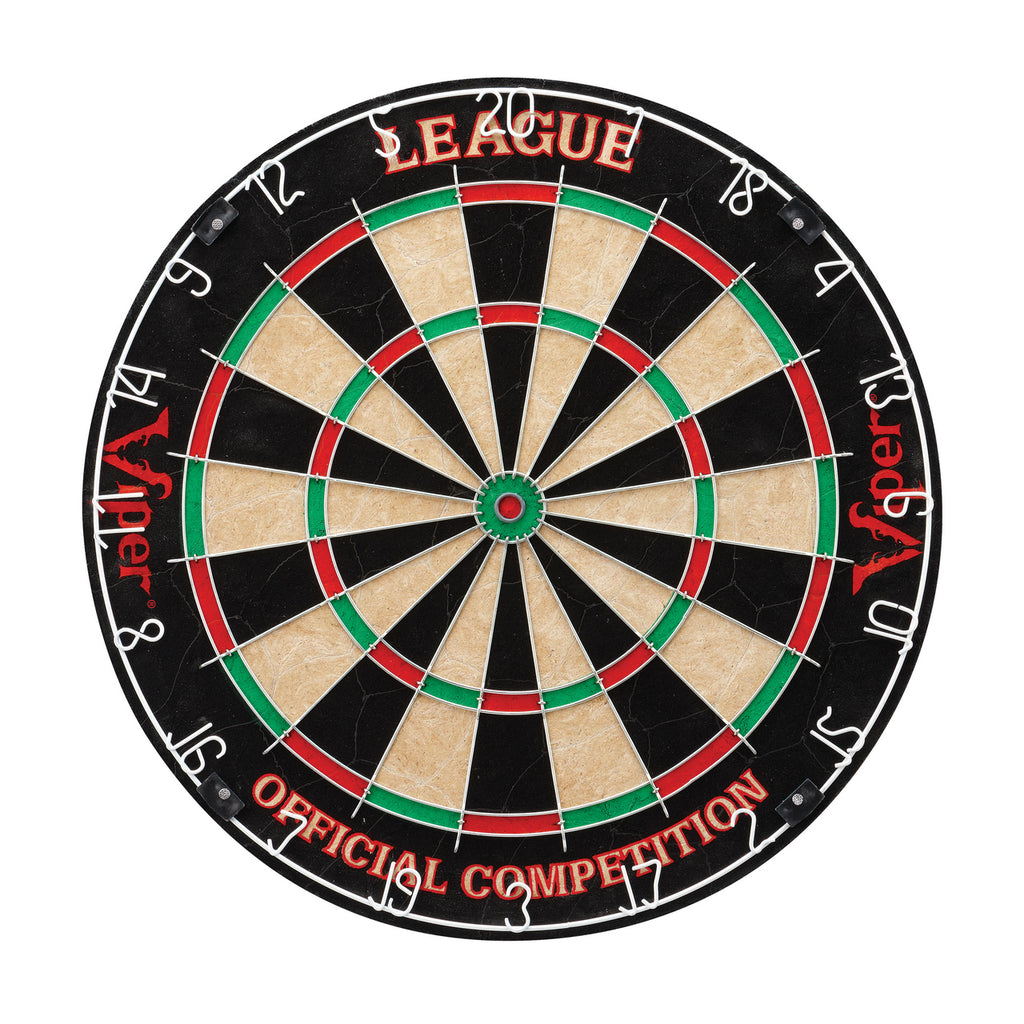 VIPER LEAGUE SISAL BRISTLE DARTBOARD