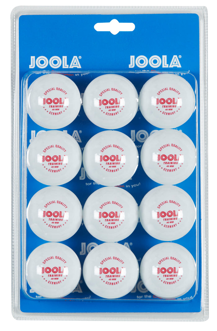 JOOLA Training ABS 40mm Table Tennis Balls (12 pack)