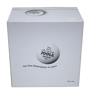 JOOLA Magic Table Tennis Balls (White, 144-Pack)