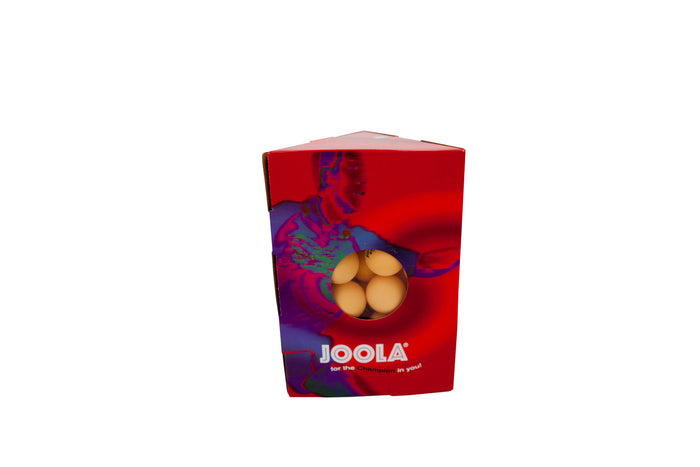 JOOLA Magic Table Tennis Balls (Orange, 48-Pack)
