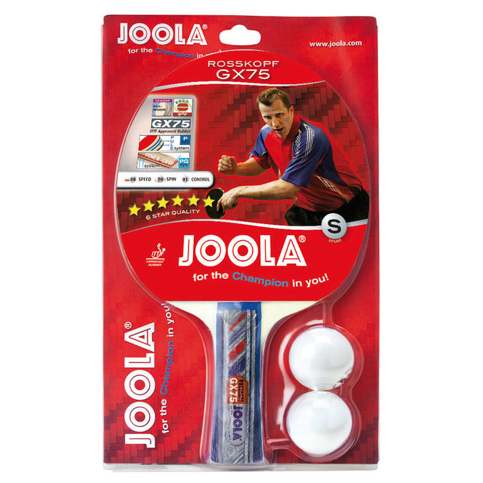 JOOLA Rosskopf GX75 Recreational Table Tennis Racket