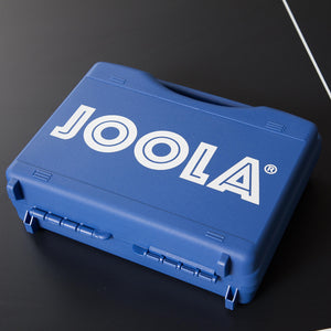 JOOLA Competition Table Tennis Tour Case (Includes Two Python Rackets and 18 3-Star Balls)