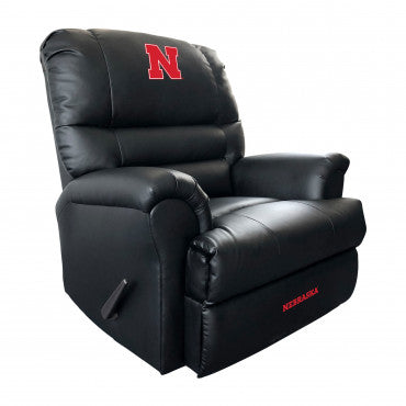 Nebraska Cornhuskers NCAA Sports Leather Recliner