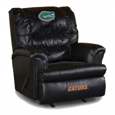 Florida Gators NCAA Big Daddy Leather Recliner