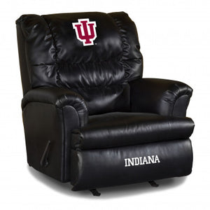 Indiana Hoosiers NCAA Big Daddy Leather Recliner