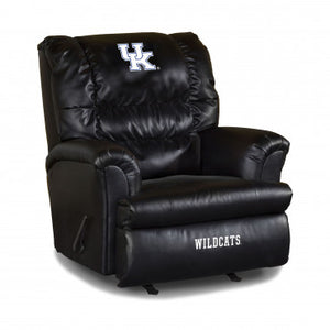 Kentucky Wildcats NCAA Big Daddy Leather Recliner