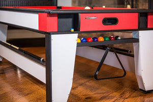 7' Rotating Hockey & Pool Combination Game Table