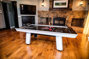 8' Air Hockey Table with LED Automatic Scoring