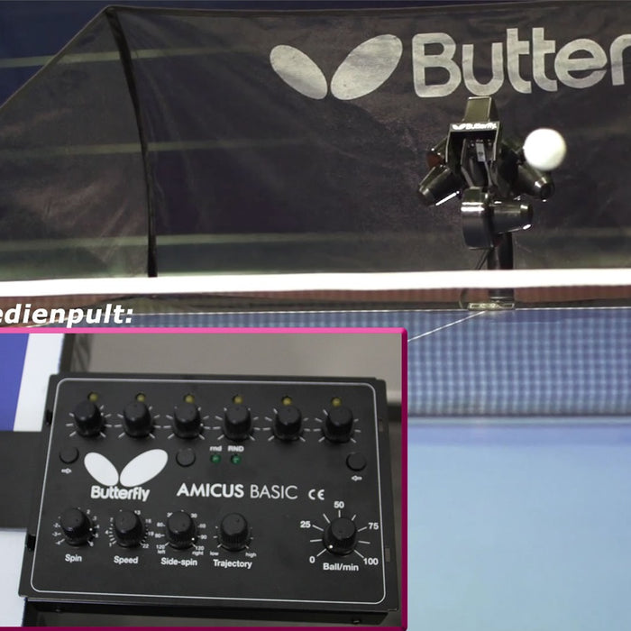 Butterfly Amicus Basic Table Tennis Robot