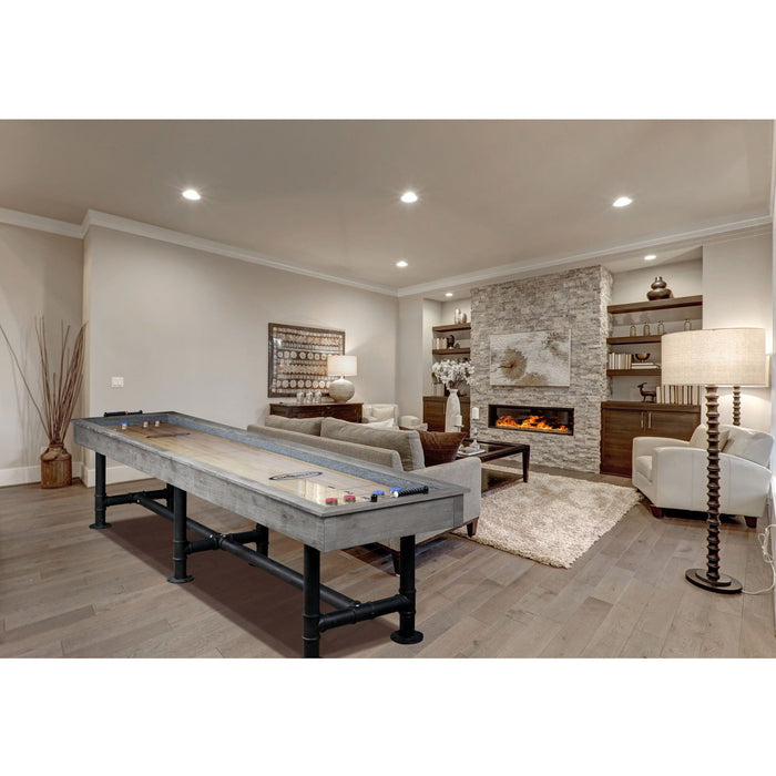 Bedford Shuffleboard Table - Silver Mist