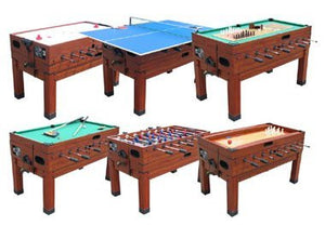 13 In 1 Combination Game Table In Cherry