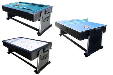 3 In 1 Rotating Multi Game Table