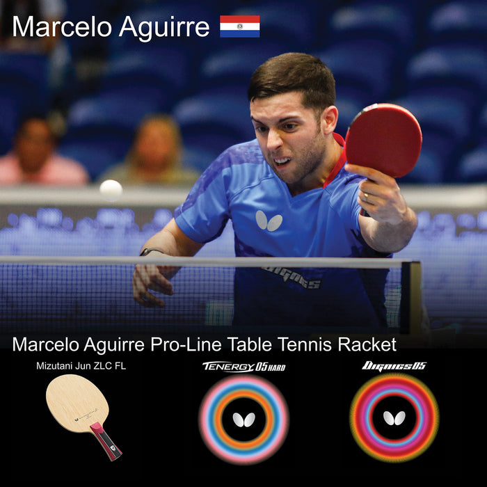 Butterfly Marcelo Aguirre Pro-Line Table Tennis Racket
