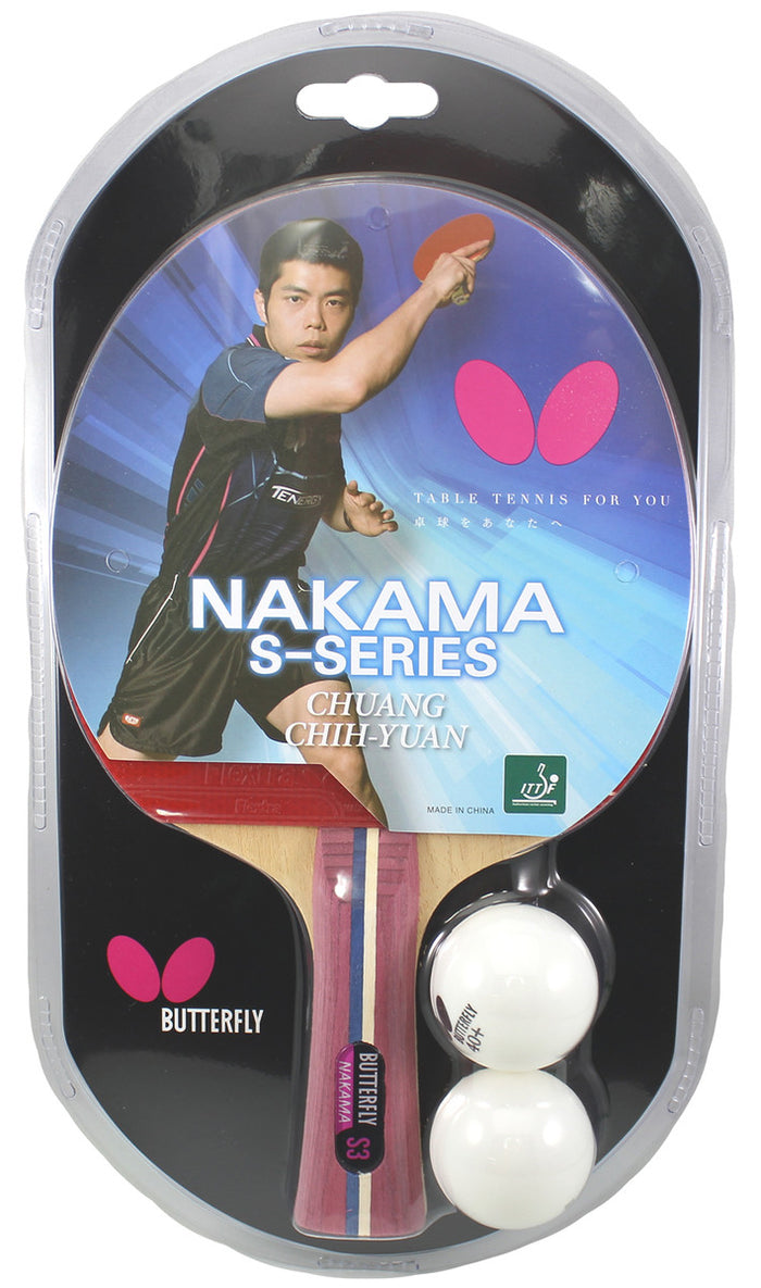 Butterfly Nakama S-3 Table Tennis Racket