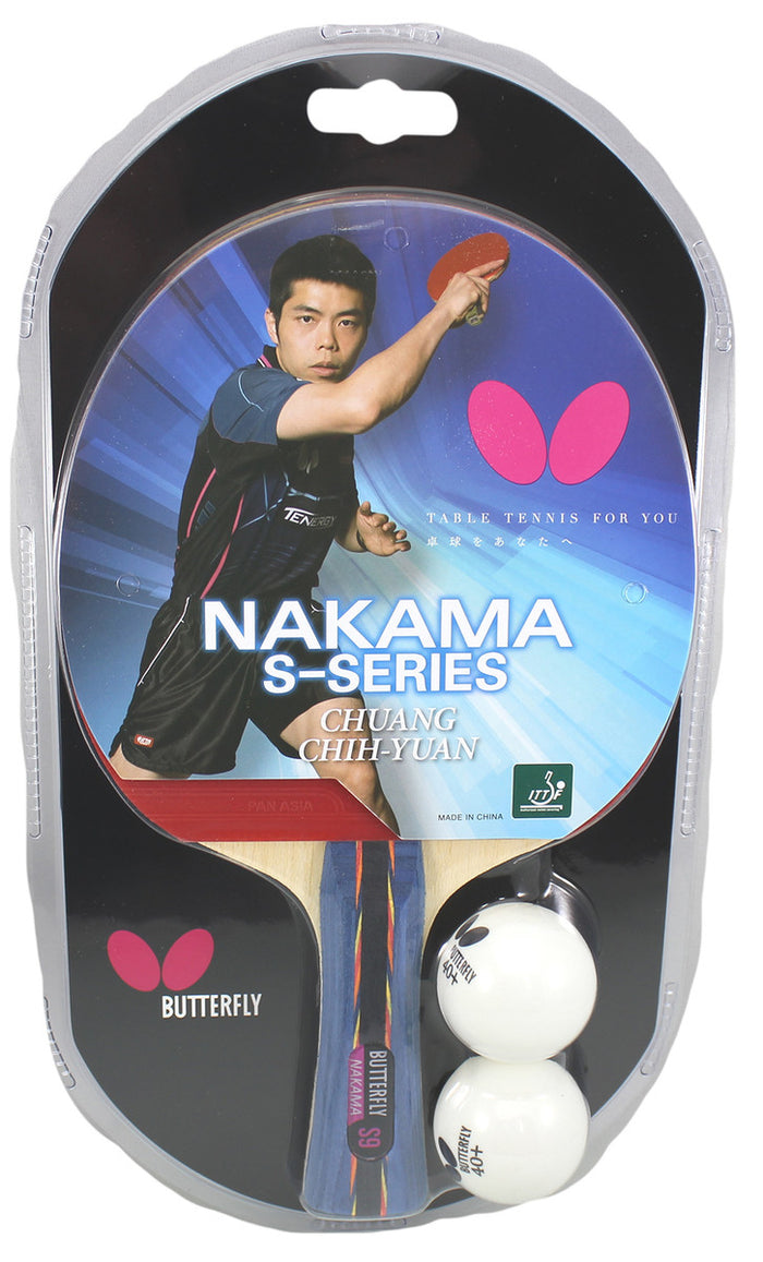 Butterfly Nakama S-9 Table Tennis Racket