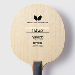Butterfly TB5 Alpha FL Table Tennis Blade