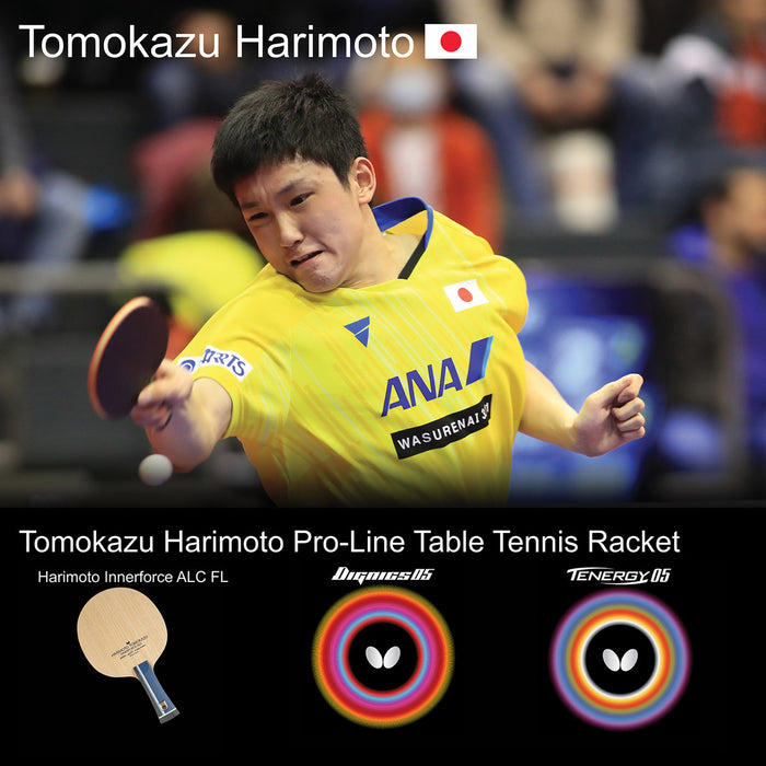 Butterfly Tomokazu Harimoto Pro-Line Table Tennis Racket