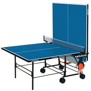 Butterfly Outdoor Playback Rollaway Table Tennis Table