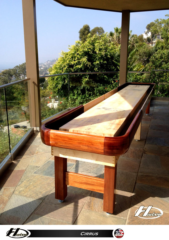 Hudson Cirrus Indoor/Outdoor All-Weather Shuffleboard Table