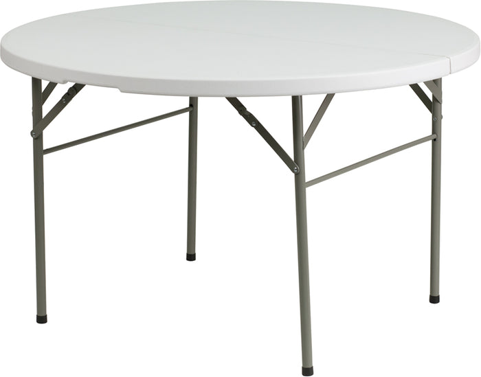 Round Bi-Fold Cards Table