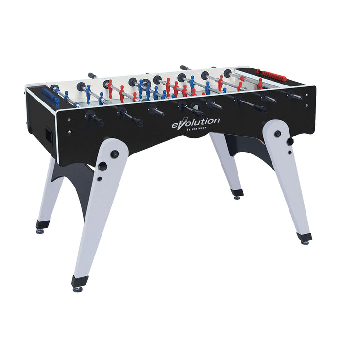 "Evolution 56"" Indoor Foosball Table with Folding Legs"