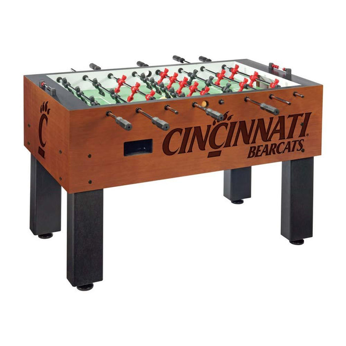 Cincinnati Bearcats NCAA Foosball Table