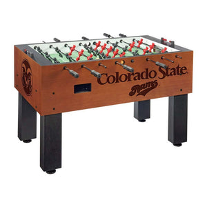 Colorado State Rams NCAA Foosball Table