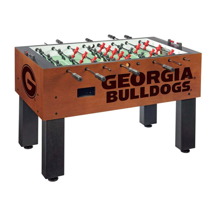 Georgia Bulldogs NCAA Foosball Table