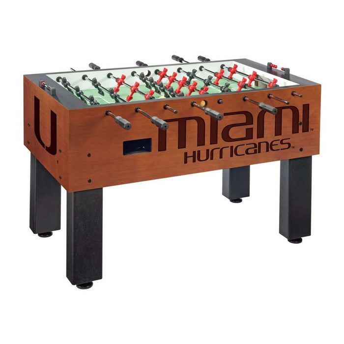 Miami Hurricanes NCAA Foosball Table