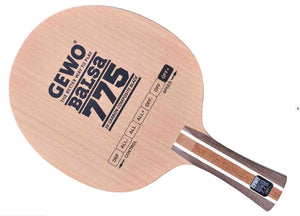 GEWO Balsa Carbon 775 Offensive Plus Table Tennis Blade