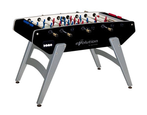 "Evolution 59"" Indoor Foosball Table with Leg Levelers"
