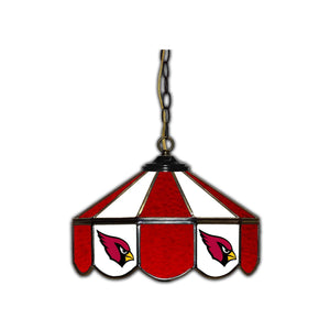 ARIZONA CARDINALS 14-IN. STAINED GLASS PUB LIGHT