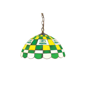 GREEN BAY PACKERS 16-IN. ROUND DOME PUB LIGHT