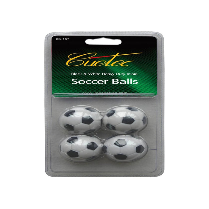 Black and White Foosballs (Pack of 4)