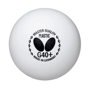 Butterfly Master Quality G40+ Table Tennis Balls (72 pack)