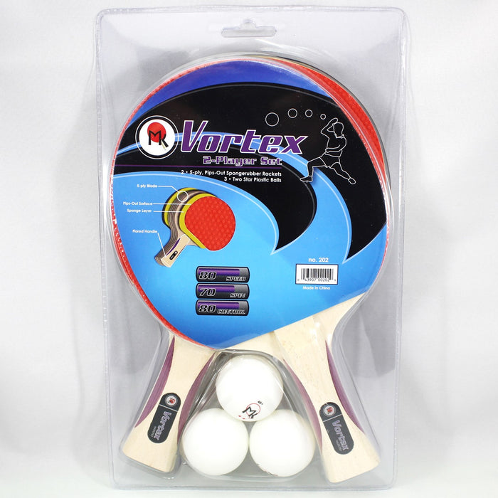 Martin Kilpatrick Vortex Table Tennis Racket Set