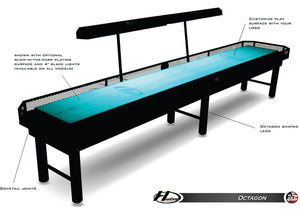 Hudson Octagon Shuffleboard Table