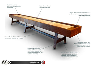 Hudson Pasadena Shuffleboard Table