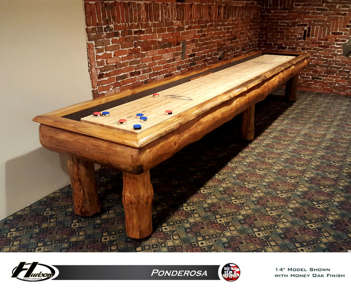 Hudson Ponderosa Shuffleboard Table