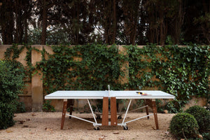 RS Barcelona Folding Ping Pong Table