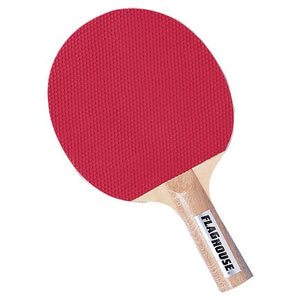 Rubber-Faced Hardwood Table Tennis Racket