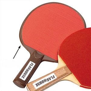 Rubber-Faced Table Tennis Paddle