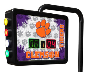 Clemson Tigers 12-foot Shuffleboard Table