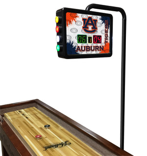 Auburn Tigers 12-foot Shuffleboard Table