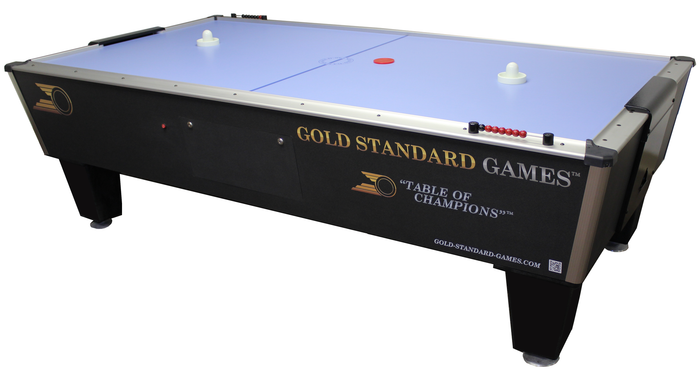 Gold Standard Games Tournament Ice Air Hockey Table