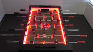 Warrior Table Soccer LED Foosball Table