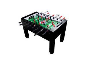 Warrior Table Soccer Black Light Foosball Table